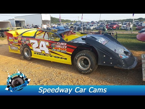 #24H Phil Helton - Super Late Model - 9-3-17 Tazewell Speedway - In Car Camera
