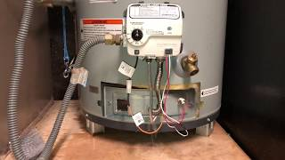 WATER HEATER GAS VALVE REPLACEMENT