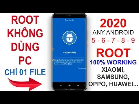 #39 Hướng Dẫn Cách ROOT Mọi điện Thoại Android 7,8,9... 100% Thành Công Không Cần Máy Tính 2020 V2