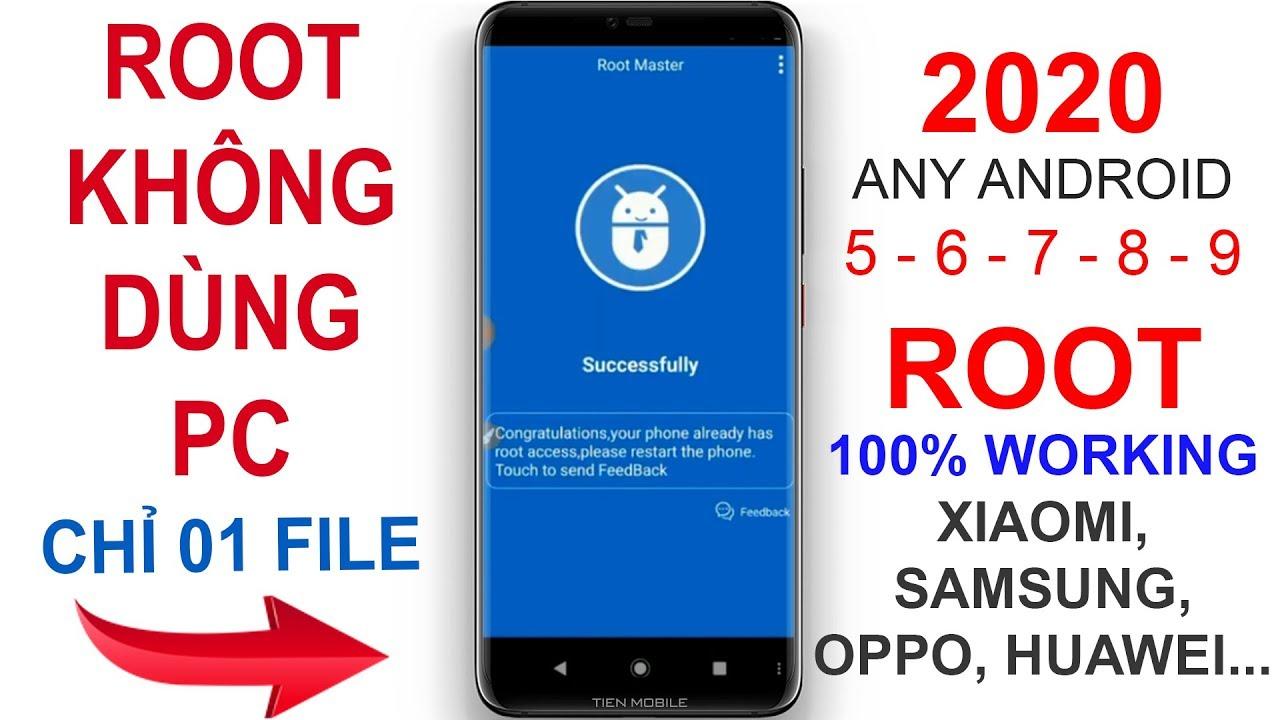 #39 Hướng dẫn cách ROOT mọi điện thoại Android 7,8,9… 100% thành công không cần máy tính 2020 V2