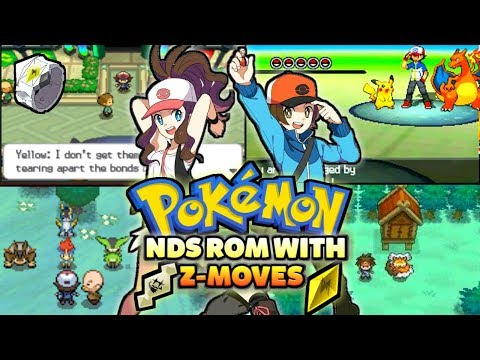 New Completed Pokemon NDS Rom With Z-Moves,New Evolutions & Much More!
