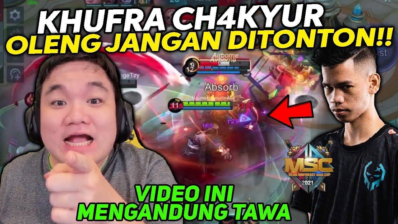 JANGAN DITONTON! Mau Niru KHUFRA CH4KNU JUARA MSC.. Malah Jadi Oleng!!! - Mobile Legends Indonesia