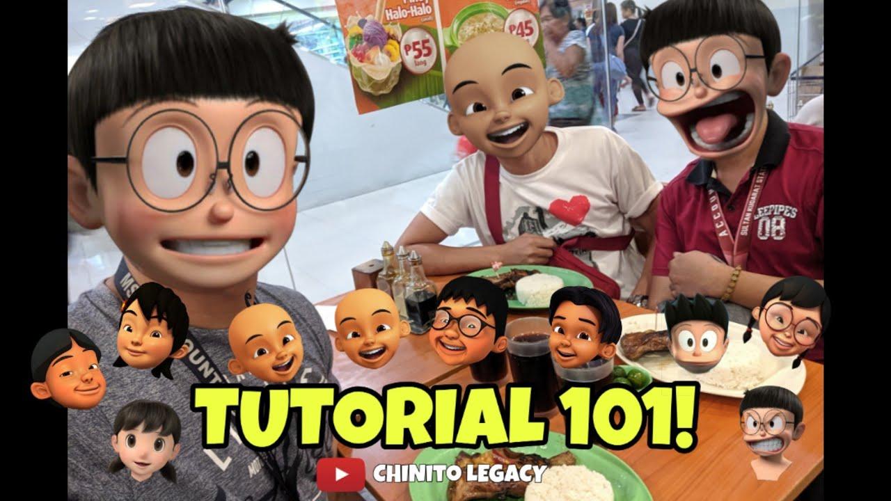Basic Tutorial How To Apply Nobita 3d Heads Kepala On Picsart