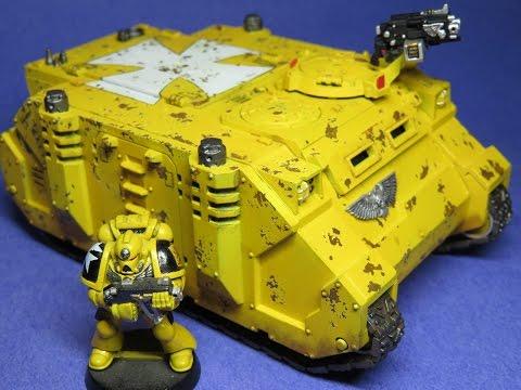 Warhammer 40K -/- Space Marine Rhino