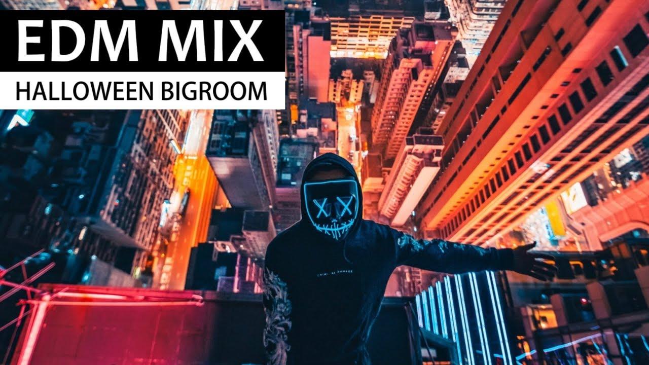 EDM BIGROOM MIX - Electro House Halloween Party Music Mix 2018