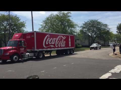 Akron Coca-Cola plant's union workers on strike