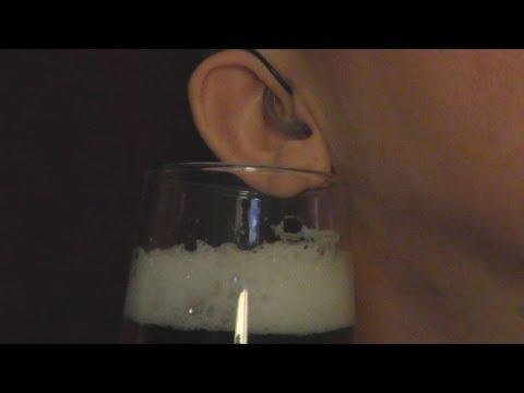 ASMR Beer Review 10 - Stella Artois + Binaural ASMR Trigger Sounds Compilation