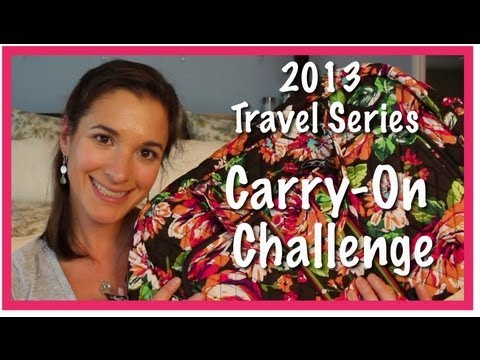 2013 Travel Series: Carry-On Challenge
