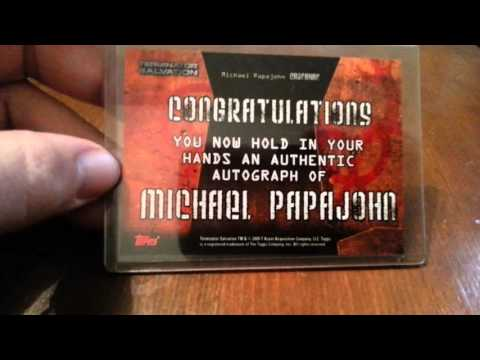 MICHAEL PAPAJOHN Actor,Stuntman  Autograph Collection ing FREEZE