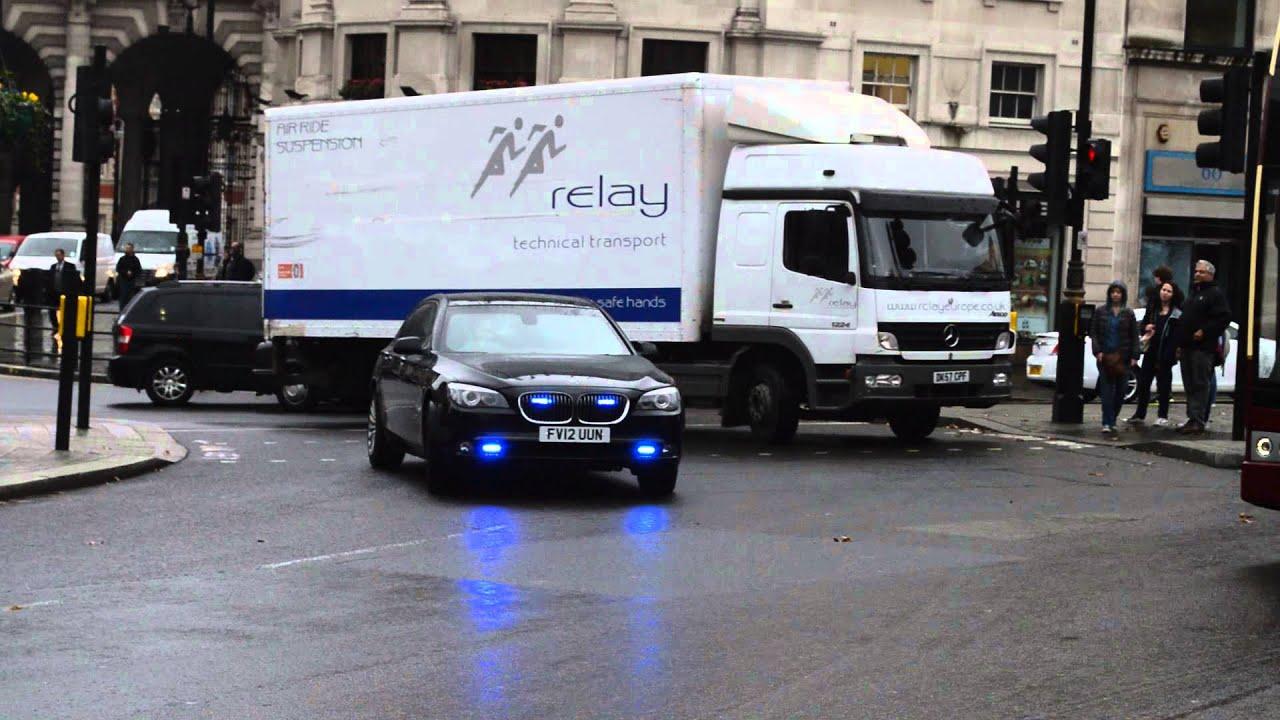 Metropolitan Police Unmarked Bmw 7 Series Responding