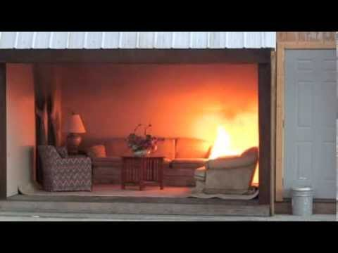 Flashover Demonstration