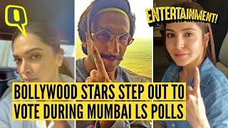 Ranveer, Deepika, Anushka & More Vote in Mumbai Lok Sabha Poll…