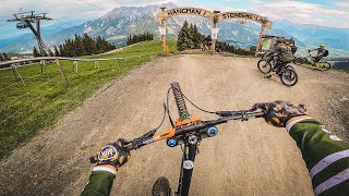 DOWNHILL MTB at Bikepark Leogang!