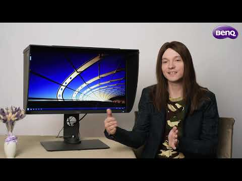 Обзор профессионального монитора  для фотографов  BenQ SW270C