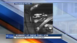 Man robbed while withdrawing money from Waukesha ATM