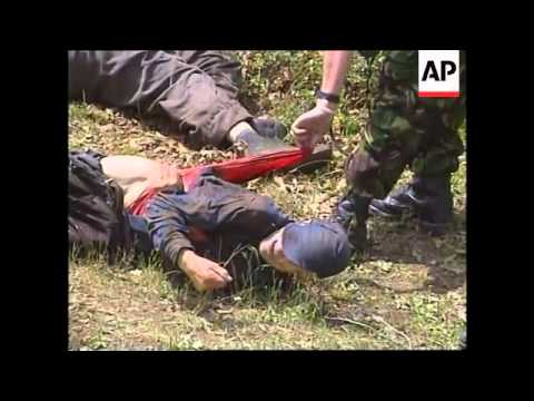 KOSOVO: BODIES OF 4 ELDERLY SERBS DISCOVERED