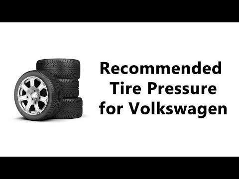 Volkswagen Tire Pressure