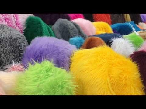Shaggy faux fur collection