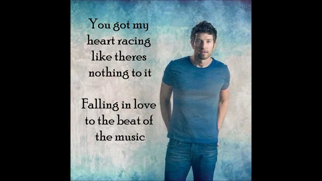 Falling in love to the beat of music