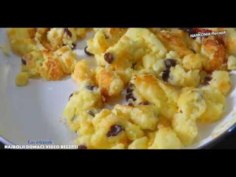 Slatki Carski Omlet Recept