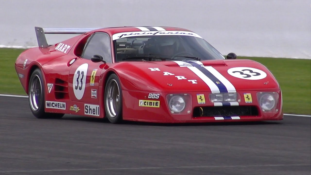 ferrari 512 bb lm nart epic sounds on the track