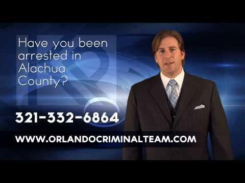 Alachua County Criminal Lawyer