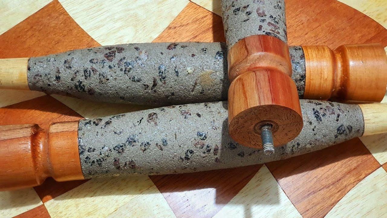 A brilliant cement and wood idea / Uma ideia brilhante cimento e madeira