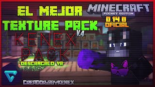 La Mejor Textura Para UHC y PVP Minecraft PE 0.14.0 (POCKET EDITION) - KenexPack - Epic Texture Pack
