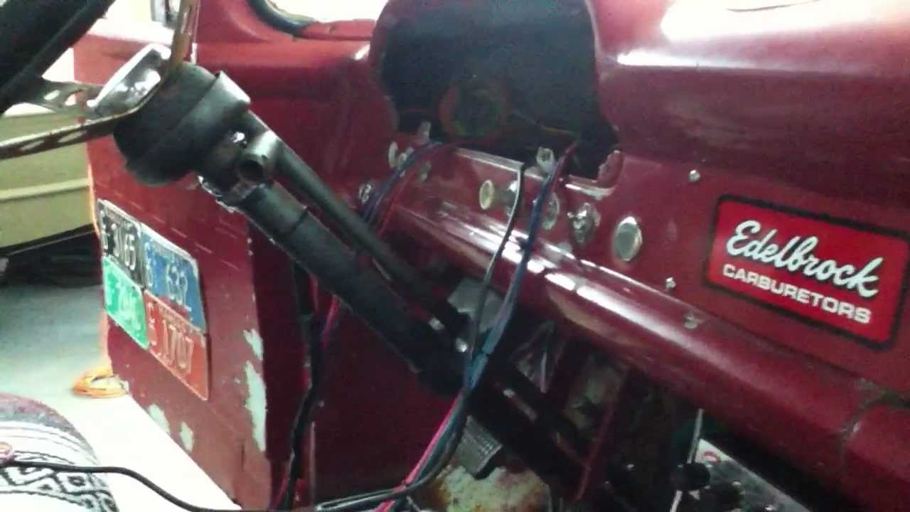 wiring a 57 60 ford f100 pickup truck youtube rh youtube com 1950 ford wiring harness 1951 ford wiring harness [ 1280 x 720 Pixel ]