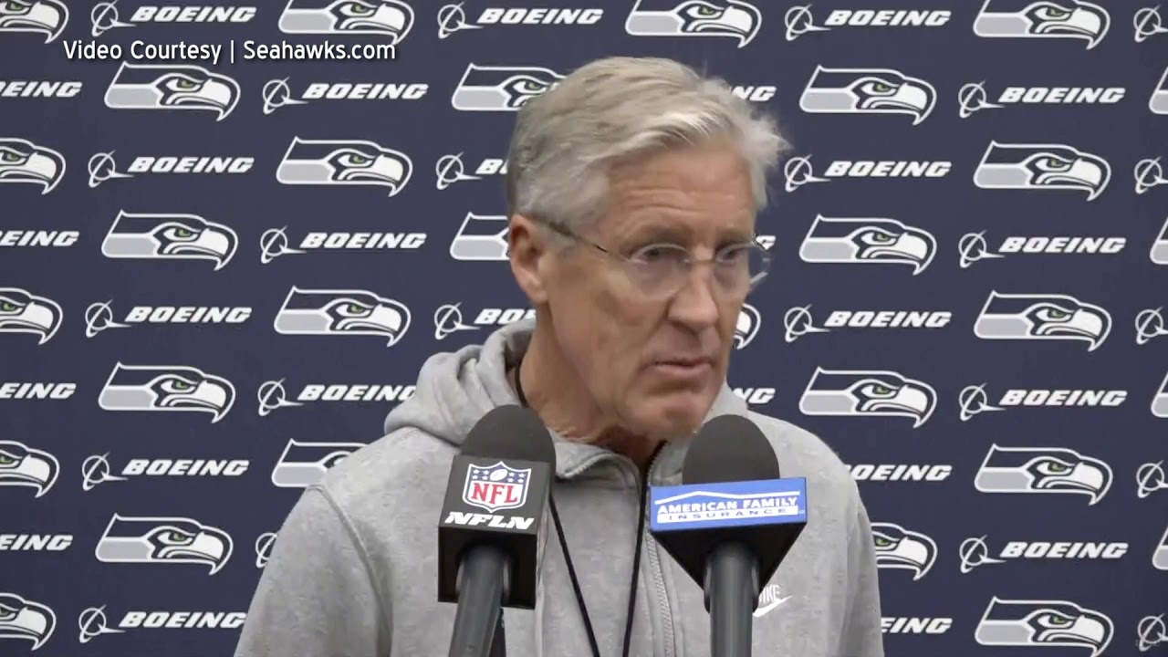 Pete Carroll on Defensive Play 2019-11-18