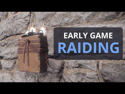 EARLY GAME SATCHEL RAIDING IN RUST!! thumbnail
