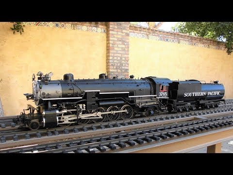 Accucraft Southern Pacific (2-10-2) Steam Locomotive For Sale on eBay
