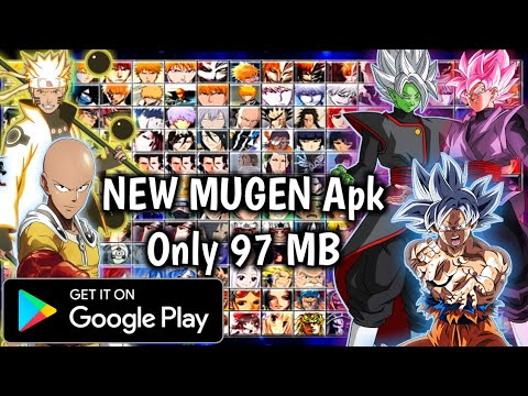 NEW Bleach Vs Naruto Mugen Apk For Android Only 97 MB With Goku Mastered Ultra Instinct  #Smartphone #Android