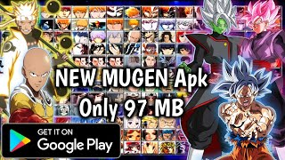 NEW Bleach Vs Naruto Mugen Apk For Android Only 97 MB With Goku Mastered Ultra Instinct