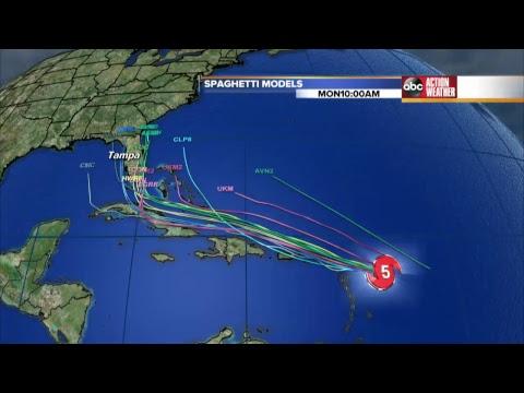 Hurricane Irma Live Tracking - YouTube