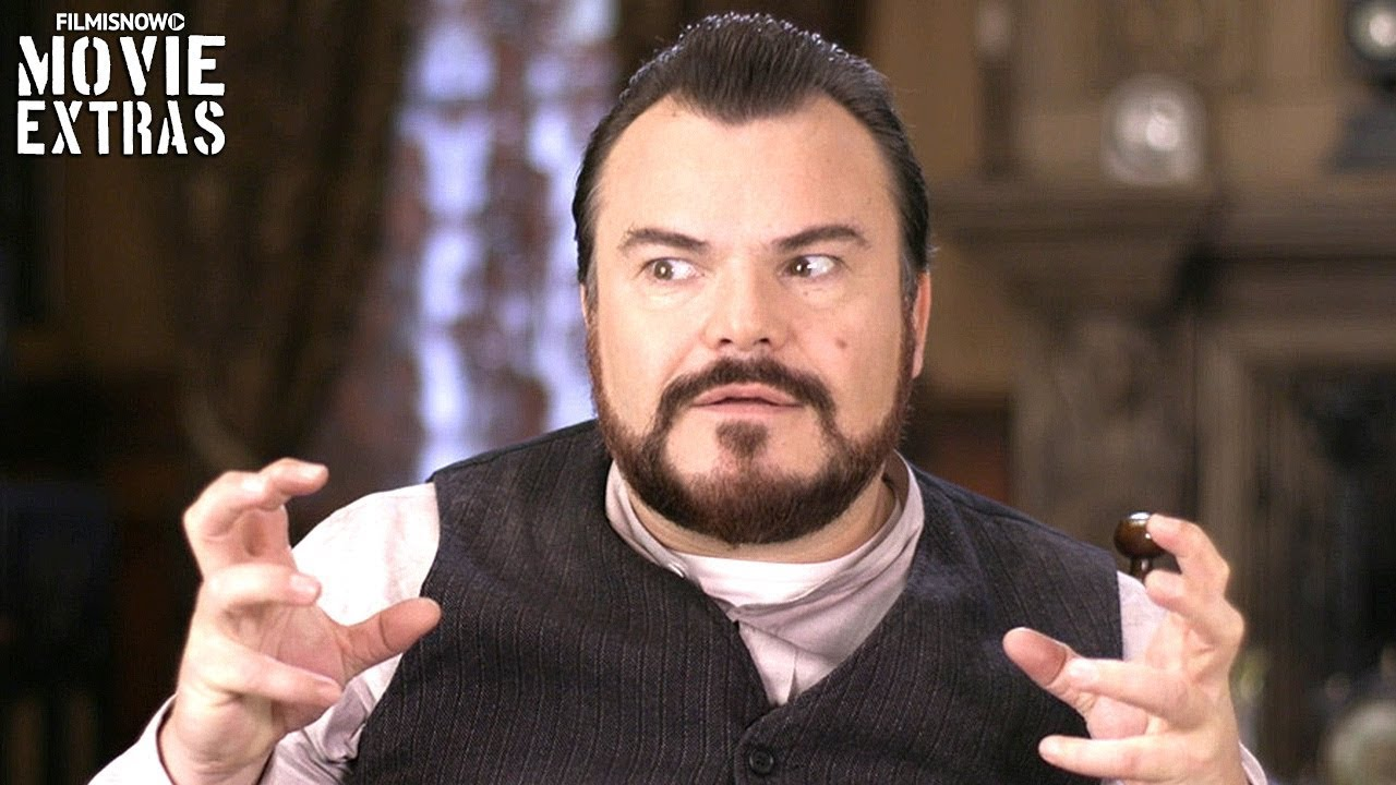 """THE HOUSE WITH A CLOCK IN ITS WALLS   On-set visit with Jack Black """"Jonathan Barnavelt"""""""