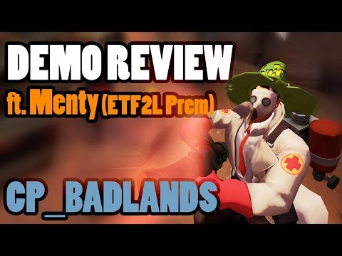 TF2 Review: Premiership 6s Medic on cp_Badlands ft. Menty