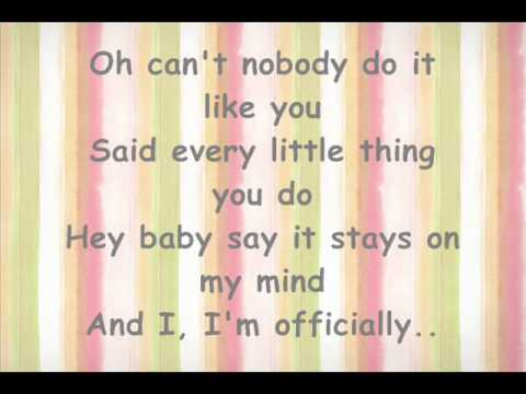 Officially Missing You -- Tamia -- Plus Lyrics