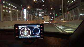阪神高速環状線オービステスト レーダー探知機はコムテックZERO802V thumbnail