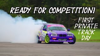homepage tile video photo for GETTING MY CAR READY FOR COMPETITION IN MY FIRST PRIVATE TRACK RENTAL