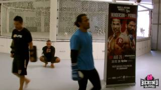 BENSON HENDERSON MEDIA WORKOUT HIGHLIGHTS
