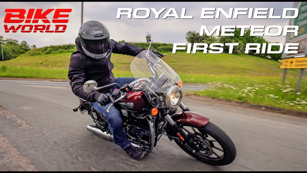 Royal Enfield Meteor 350 First Ride