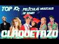 Claquetazo: Top 10 (Películas musicales de Disney)
