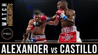 Alexander vs Castillo Highlights: November 21, 2017 - PBC on FS1