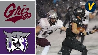 Montana vs Weber State Highlights | 2019 FCS Playoffs | Quarterfinals