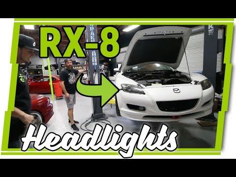Building Custom Mazda RX-8 Headlights | Throtl | FlyRyde