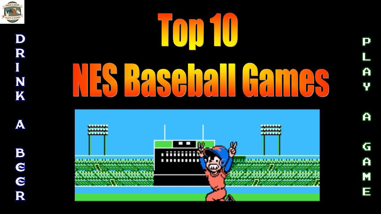 DBPG: Top 10 NES Baseball Games