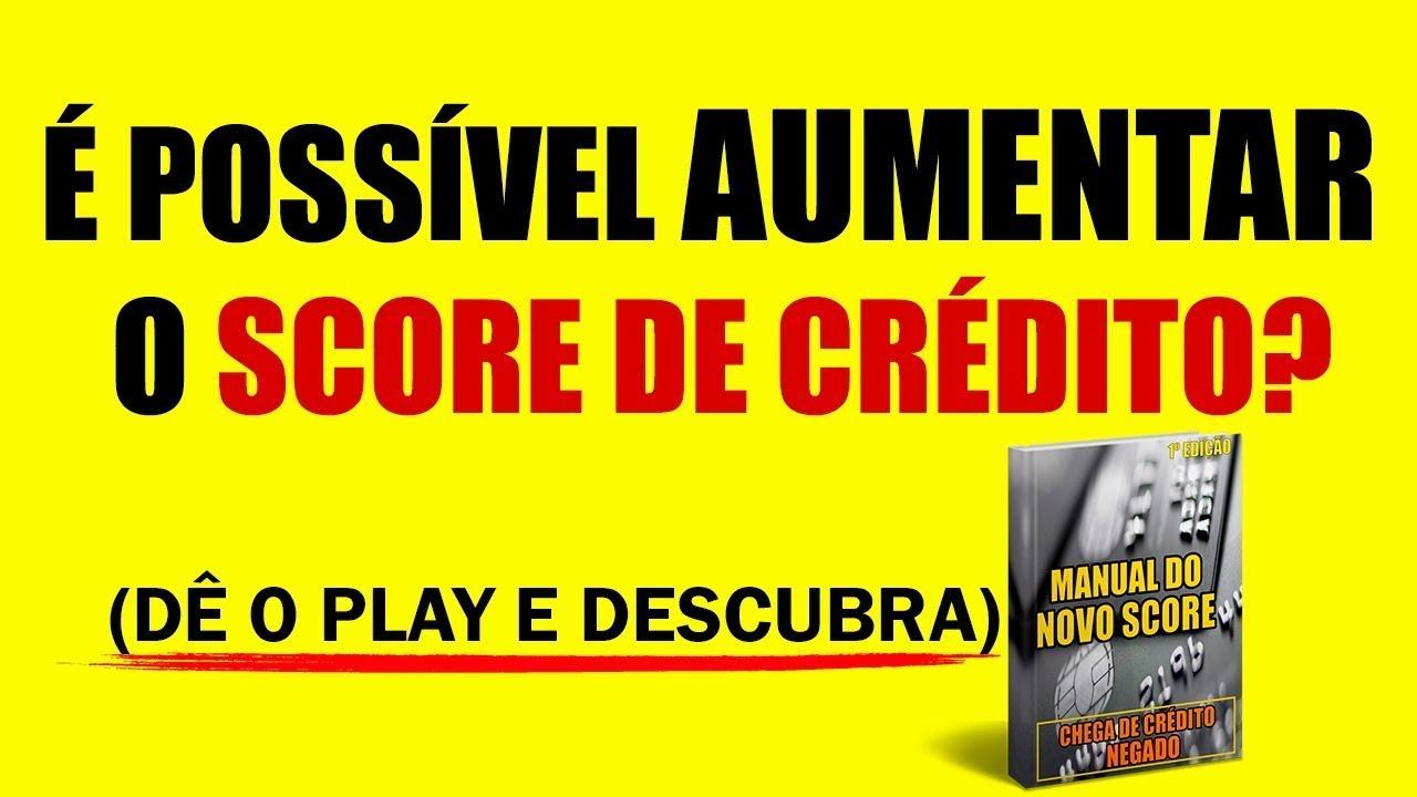 manual do novo score gratis