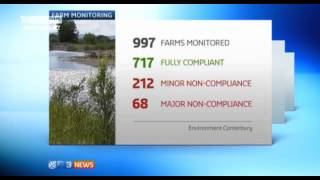 3 News: Most Canterbury dairy farms not polluting