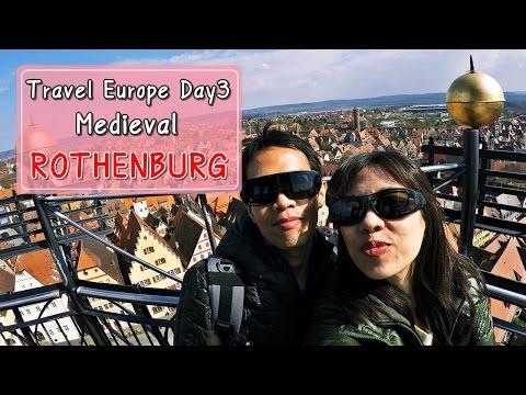 [รีวิวเที่ยว] Travel Europe 2016 Day4 : Travel Rothenburg ; the Medieval Town, Bavaria, Germany